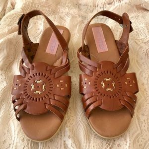 Soft Step leather sandals